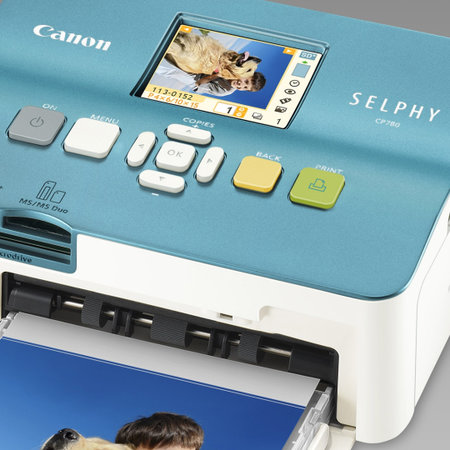 Canon launches SELPHY CP790, CP780