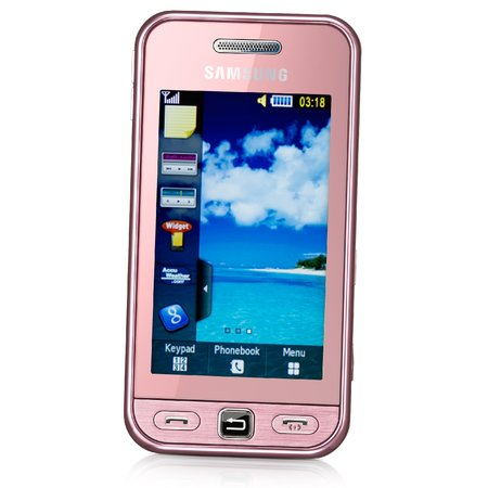 Carphone nabs Samsung Tocco Lite in pink