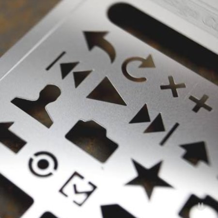 iPhone stencil kit offered