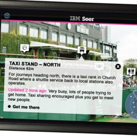 "VIDEO: IBM's ""Seer"" Android app for Wimbledon"