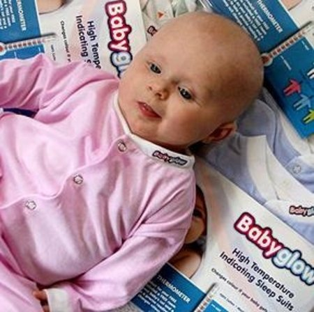 "UK dad invents innovative ""Babyglow"""