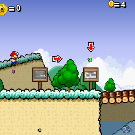 Super Mario 63 flash game released