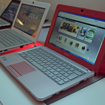 "Sony Vaio W ""mini notebook"""