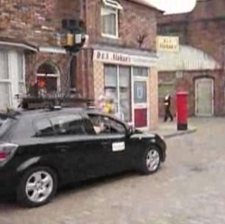 Coronation Street becomes fictional first on Street View