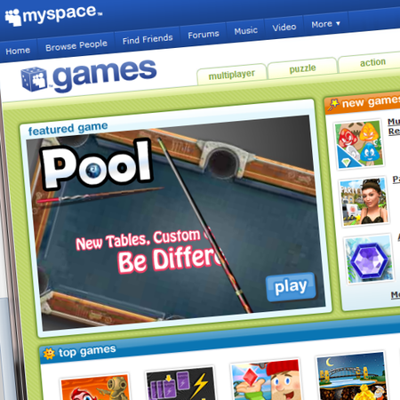 MySpace plans gaming push