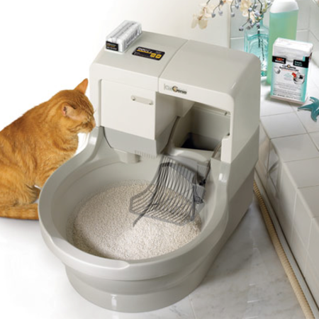VIDEO: CatGenie litter box; the ultimate cat throne