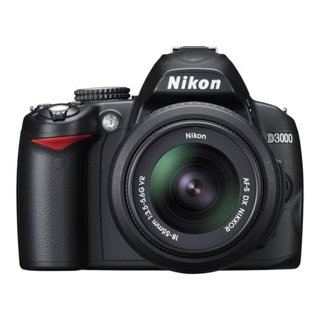 Nikon launches entry-level D3000 DSLR camera