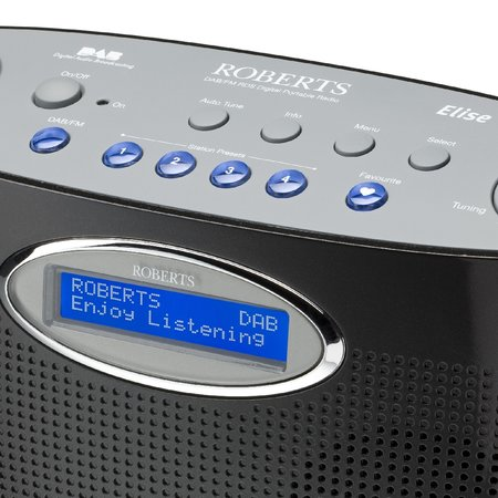 "Roberts launches ""Elise"" DAB radio"