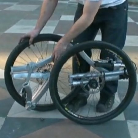"VIDEO: ""The Contortionist"" folding bike concept unveiled"
