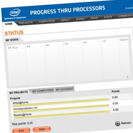 Intel launches distributed computing Facebook app