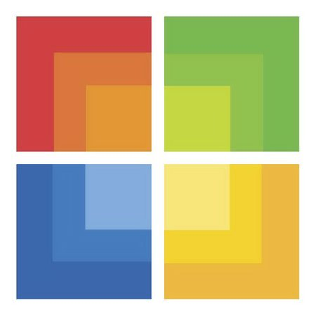 New Microsoft retail logo one for square fans