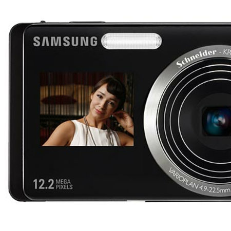 Samsung ST550 and ST500 cameras add second LCD screen on front
