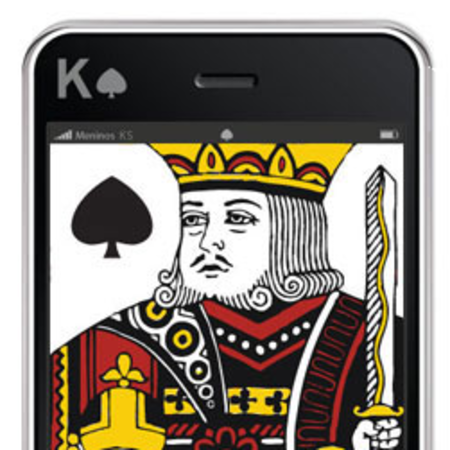 iPhone deck of cards now available