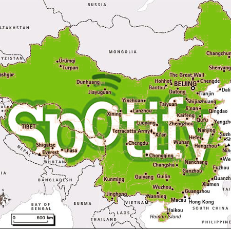 Spotify to launch in China