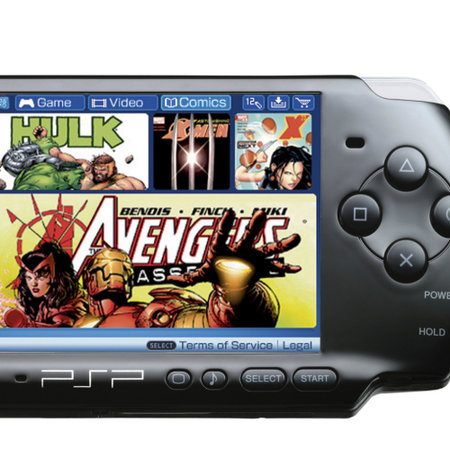 PSP gets comic book reader to take on ebooks