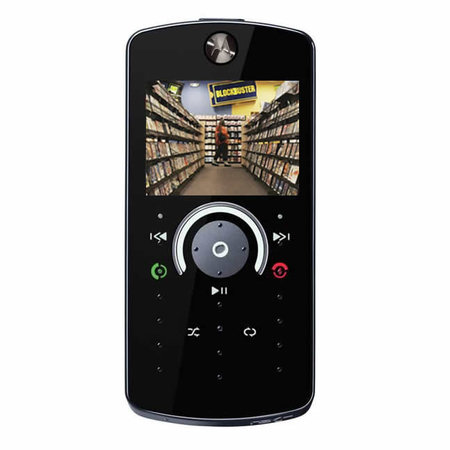 Blockbuster and Motorola eye phone movie market