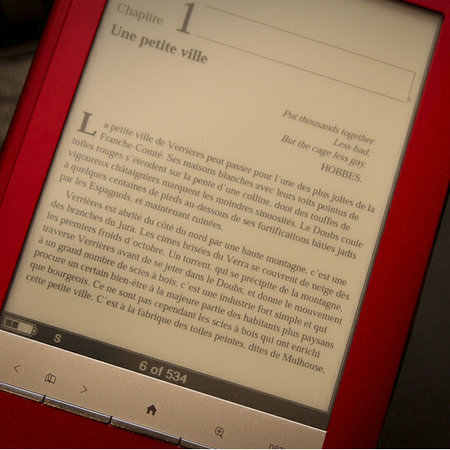 Sony Reader Touch ebook