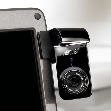 Hercules Dualpix HD720p webcam annoucned
