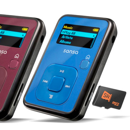 SanDisk Clip+ MP3 player announced
