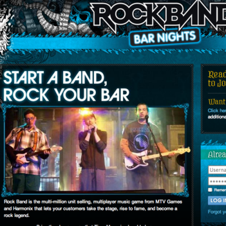 Rock Band to replace Karaoke, coming to a bar near you