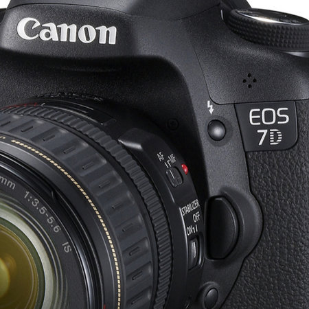Canon EOS 7D DSLR camera official