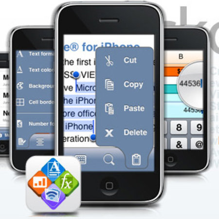 Quickoffice adds Office 2007 editing for iPhone