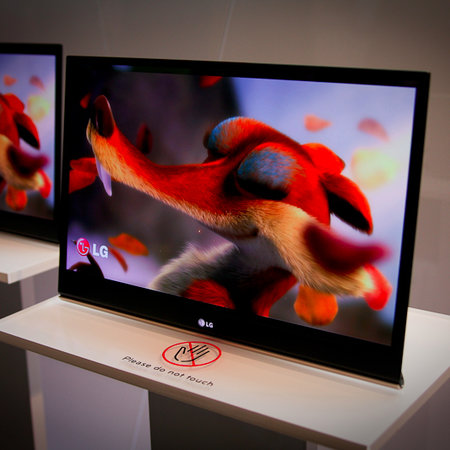 LG's 15-inch OLED television