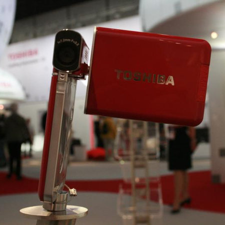 Toshiba S20, H30 and X100 Camileo camcorders