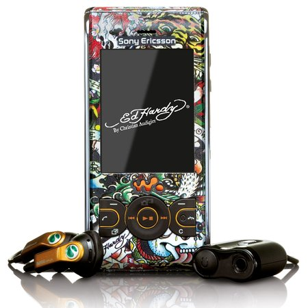 Sony Ericsson offers Ed Hardy-themed W595 Walkman