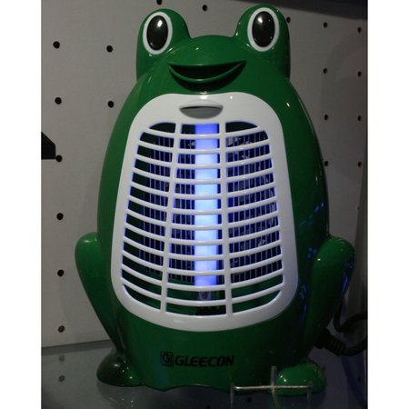 Frog-shaped bug-zapper produced