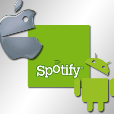 Spotify App: iPhone versus Android