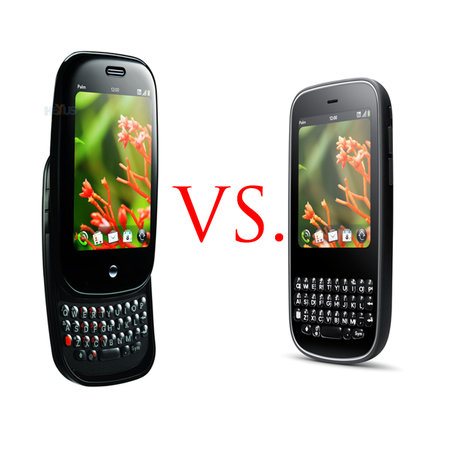 Palm Pre vs Palm Pixi
