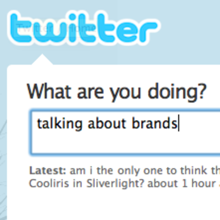 Nike, Apple, Samsung, Apple, Google - Twitter is all about brands