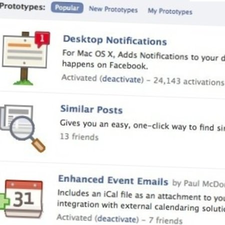 "Facebook goes Labs with new ""Prototypes"" options"
