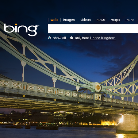 Bing takes 10% of US search market