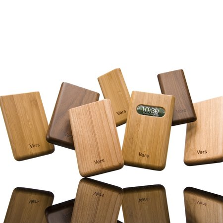 Vers intros hand-crafted wood cases for iPods and iPhone