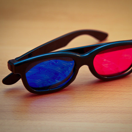 How to make your own 3D glasses  - photo 1
