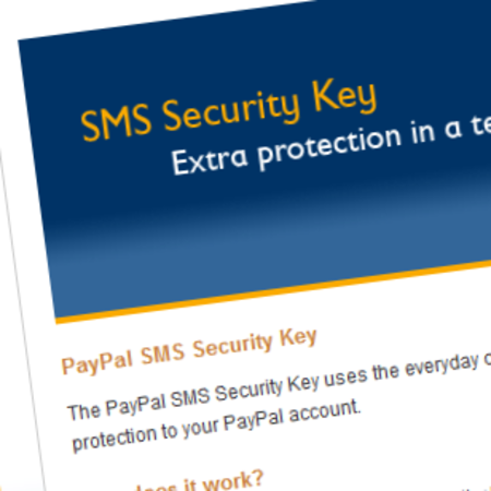 PayPal adds SMS security layer