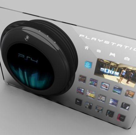 PlayStation 4 clear concept revealed