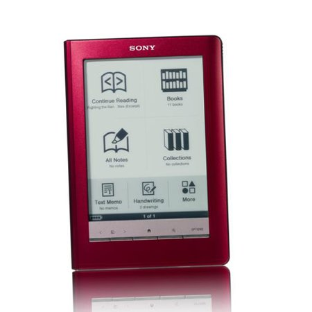 Sony Reader Touch Edition to launch in red