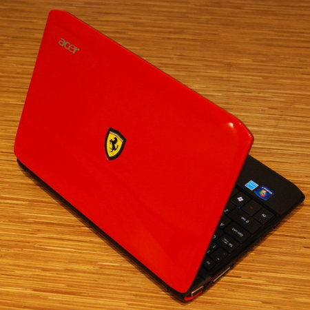 We catch up with the Acer Ferrari One netbook