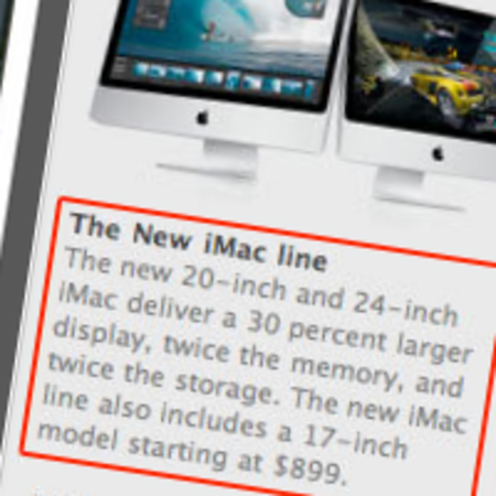 Apple planning iMac revisions?