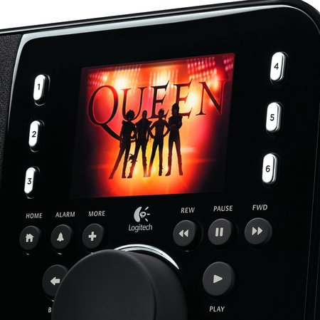 Logitech's Squeezebox Radio gets Queen album early