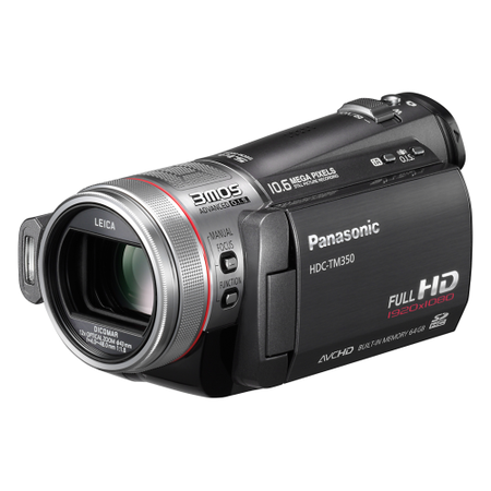 Panasonic reveals HDC-TM350 camcorder