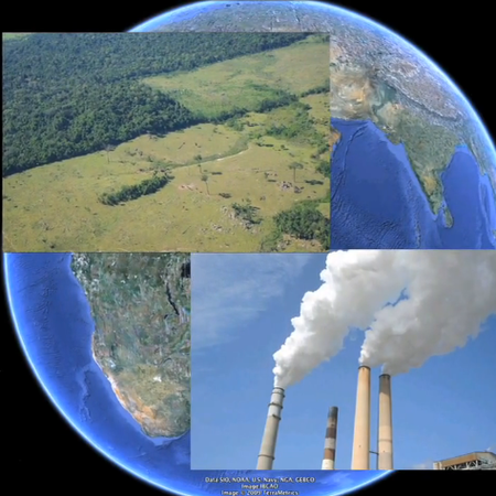 VIDEO: Google Earth simulates climate change