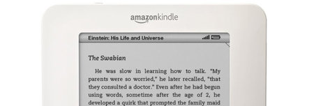 Five good reasons to buy an Amazon Kindle...