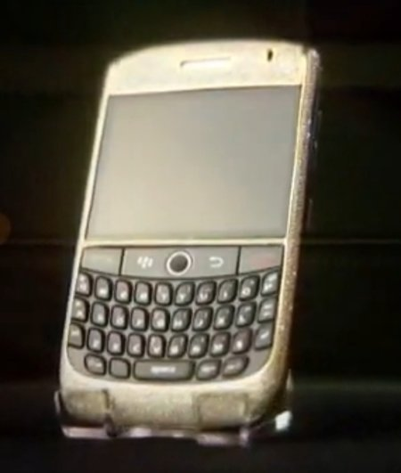 VIDEO: The world's most expensive BlackBerry