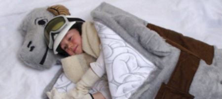 Tauntaun sleeping bag lets you relive Empire Strikes Back sleepovers