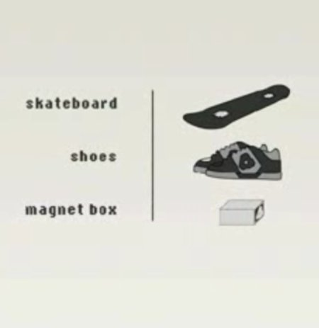 VIDEO: 4size magnetic skateboard and shoes launch