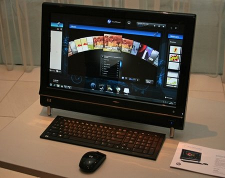 HP updates TouchSmart PCs
